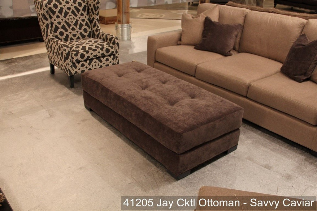 Southern Furniture Living Room Jay Cocktail Ottoman 41205 Whitley