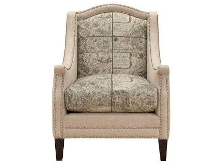 Southern Furniture Living Room Marlo Chair 4430 Hickory Furniture