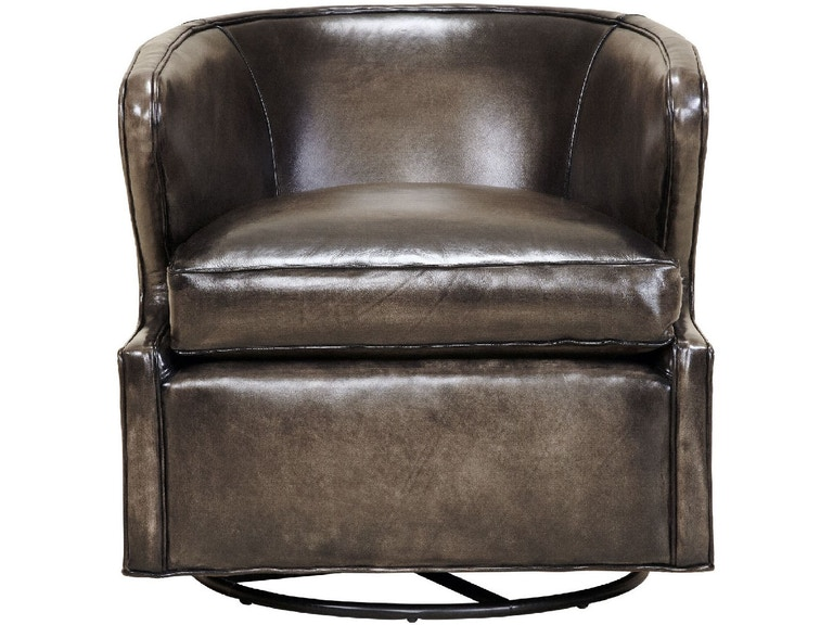 Southern Furniture Living Room Smith Swivel Chair 46529 Hickory