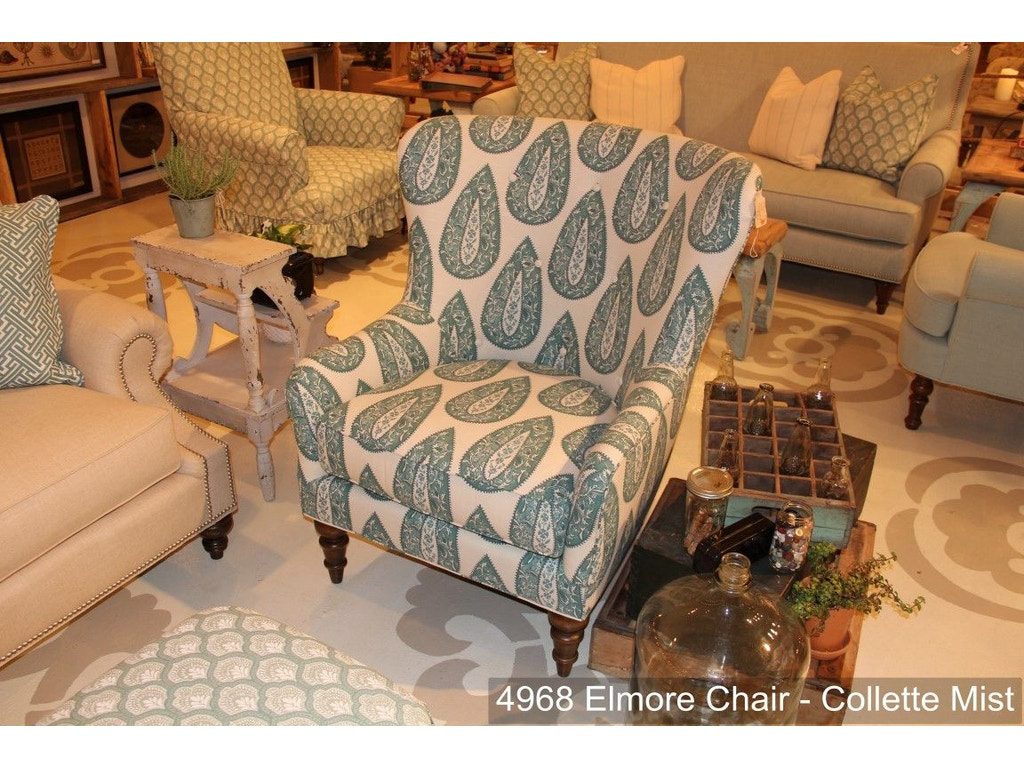 Southern Furniture Living Room Elmore Chair 4968 Hickory Furniture Mart Hickory Nc