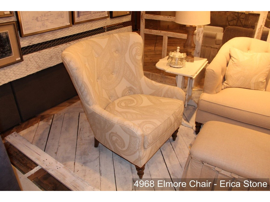 Elmore chair wes4968 for Walter e smithe living room furniture