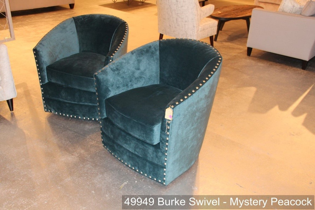 Southern Furniture Living Room Burke Swivel Chair 49949