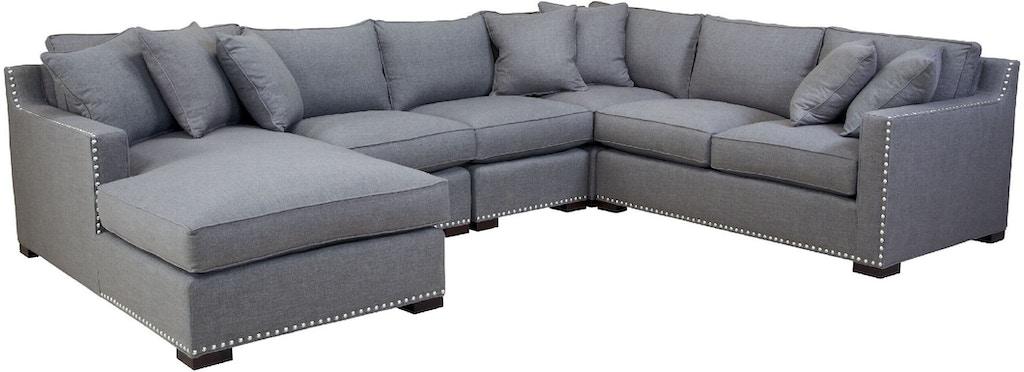 Southern Furniture Living Room Jesse Right Arm Facing Corner Sofa