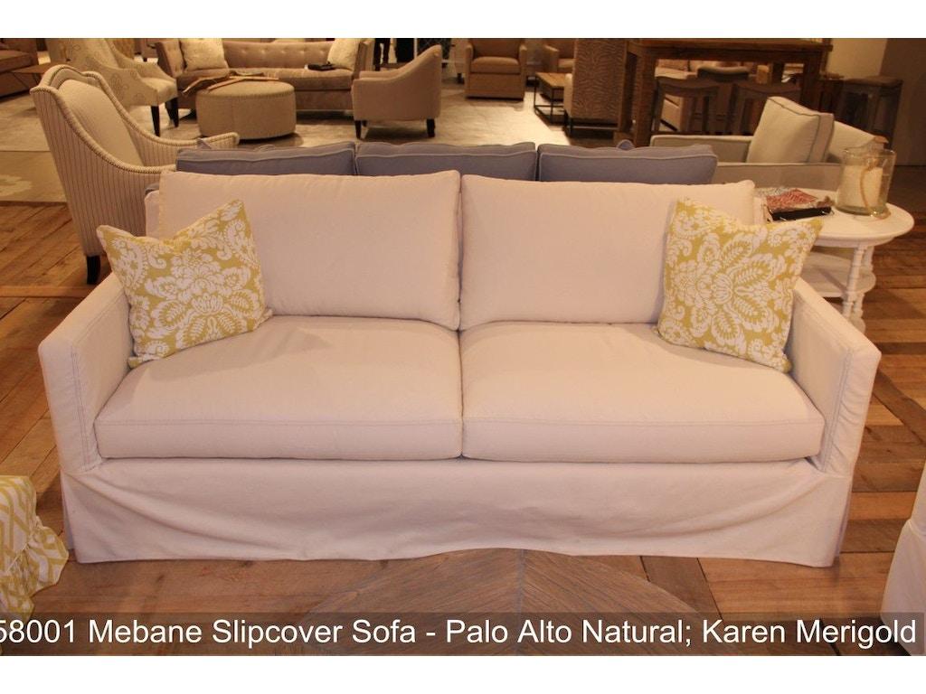 Southern Furniture Living Room Mebane Slipcover Sofa 58001