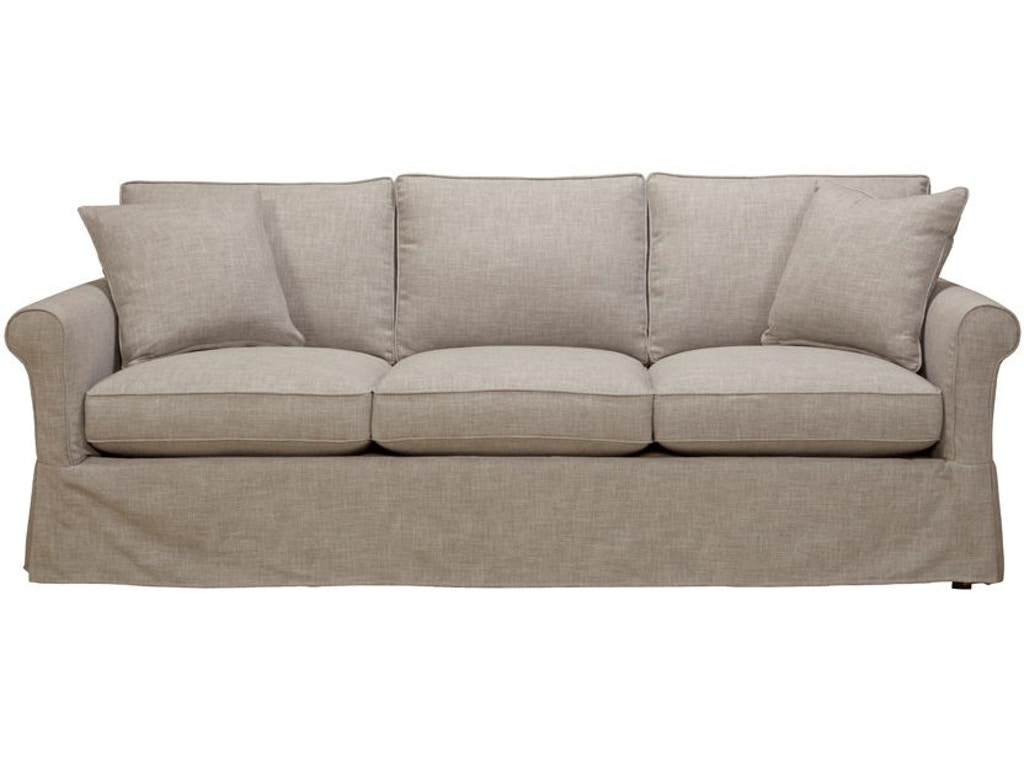 Southern Furniture Living Room Vivian Slipcover Sofa 58021 Hickory Furniture Mart Hickory Nc