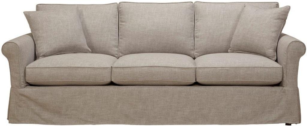 Southern Furniture Living Room Vivian Slipcover Sofa 58021