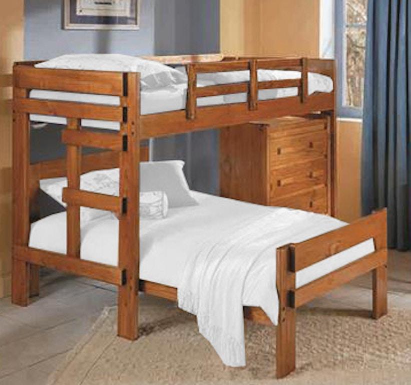 Woodcrest Youth Heartland L Shaped Bunk Bed CC2600 Davis