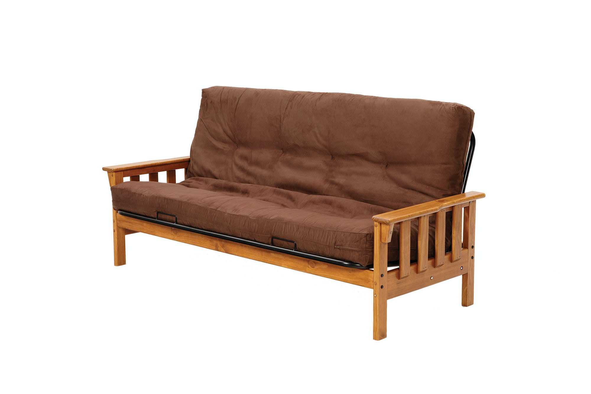 Craftsman style futon sofa bed thesofa for Craftsman bed