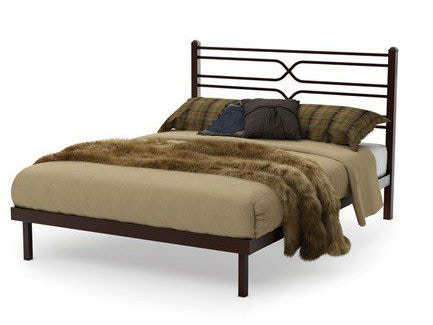 Amisco Bedroom Timeless Platform Bed Queen 12374 Pf 60