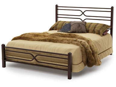 Amisco Timeless Regular Footboard Bed Queen 12374-60