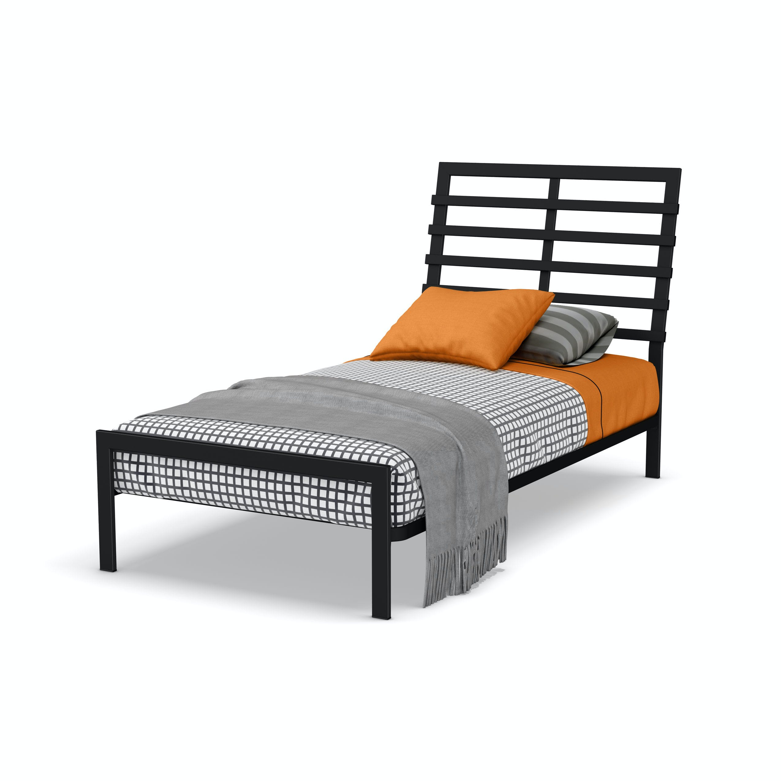 Picture of: Amisco Youth Bronson Twin Size Bed Headboard And Footboard 12414 39tp Martin Furniture Mattress