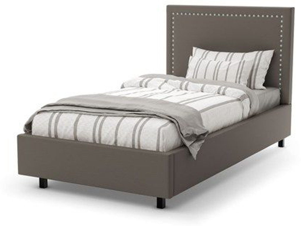 Amisco Youth Granville Twin Size Bed Upholstered Bed 12510 39 Stacy Furniture Grapevine Allen
