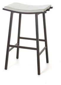 Amisco Nathan Non Swivel Bar Height Stool 40033 30