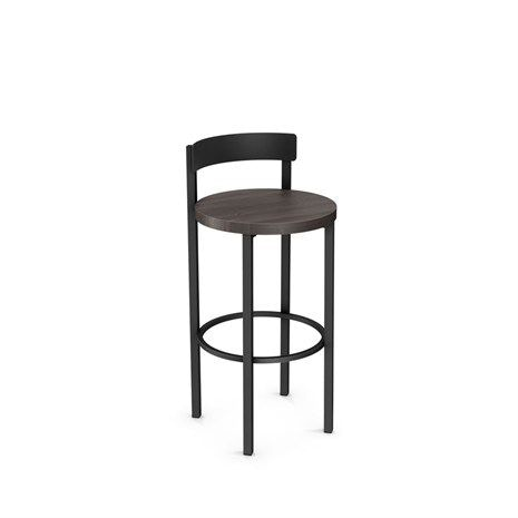 Amisco Bar And Game Room Zoe Non Swivel Bar Height Stool 40468 30