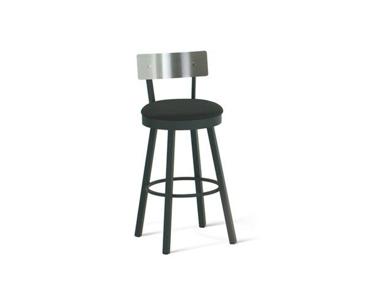 Amisco Lauren Swivel Bar Height Stool 40493-30