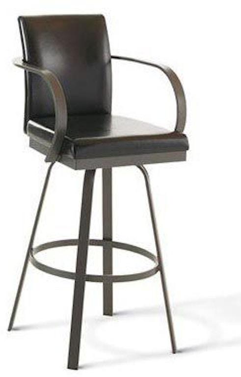 Fabulous Amisco Bar And Game Room Lance Swivel Bar Height Stool 41436 Creativecarmelina Interior Chair Design Creativecarmelinacom