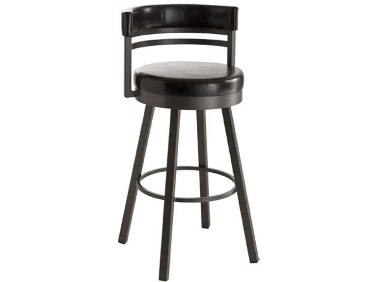 Terrific Amisco Bar And Game Room Ronny Swivel Spectator Height Stool Pabps2019 Chair Design Images Pabps2019Com