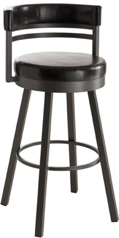 Astounding Amisco Bar And Game Room Ronny Swivel Spectator Height Stool Pabps2019 Chair Design Images Pabps2019Com