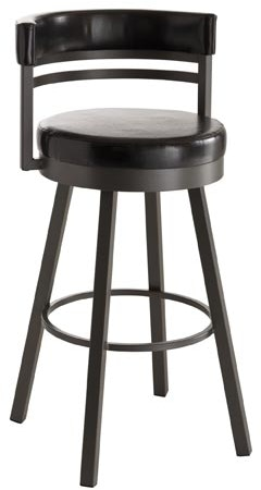Amisco Ronny Swivel Bar Height Stool 41442 30