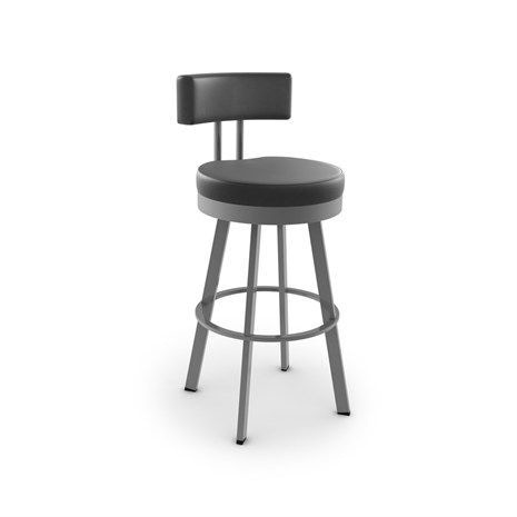 Amisco Barry Swivel Counter Height Stool 656508 Talsma