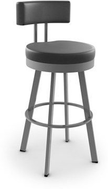 Amisco Bar And Game Room Barry Swivel Counter Height Stool