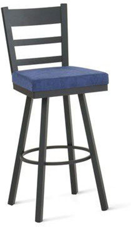 Remarkable Amisco Bar And Game Room Owen Swivel Counter Height Stool Machost Co Dining Chair Design Ideas Machostcouk
