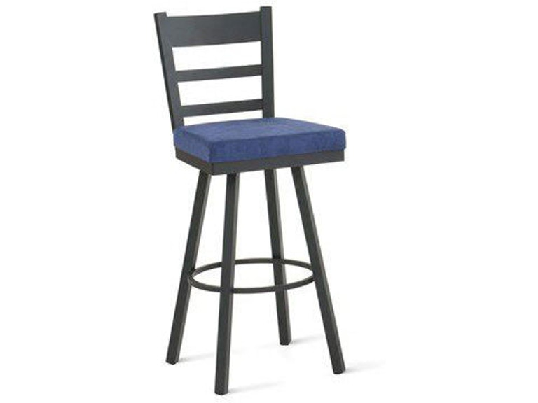 Fantastic Amisco Bar And Game Room Owen Swivel Spectator Height Stool Pabps2019 Chair Design Images Pabps2019Com