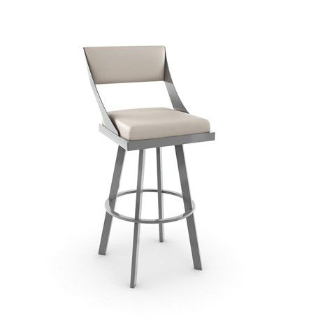Amisco Bar And Game Room Fame Swivel Counter Height Stool