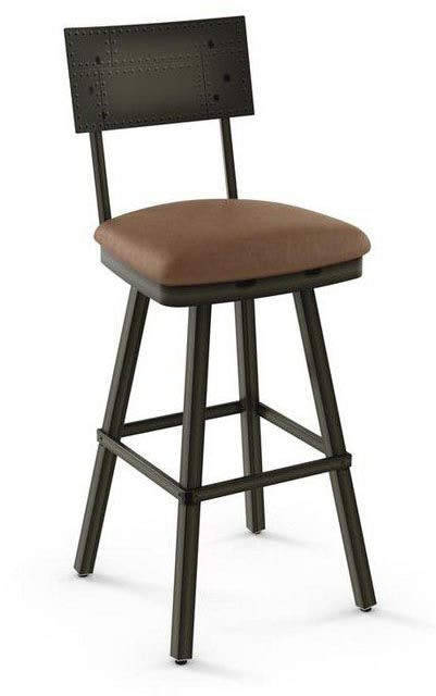 Amisco Bar And Game Room Swivel Stool 41527 26 Zing