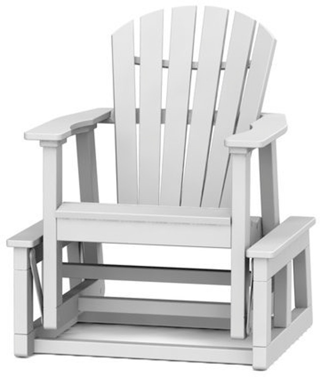 Cool Seaside Casual Outdoor Patio Adirondack Shellback Single Ncnpc Chair Design For Home Ncnpcorg