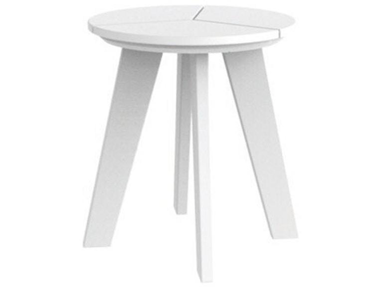 Seaside Casual Outdoor/Patio DEX Round Side Table 145 - Barron\'s ...