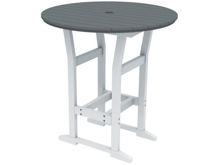 Seaside Casual Patio Furniture.Seaside Casual Outdoor Patio Cafe Round 40 Bar Table 329 Barron S