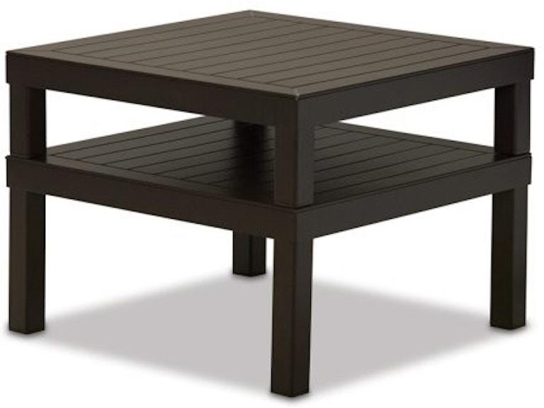 Telescope Casual Furniture Outdoor Patio Top Corner Table 1a30