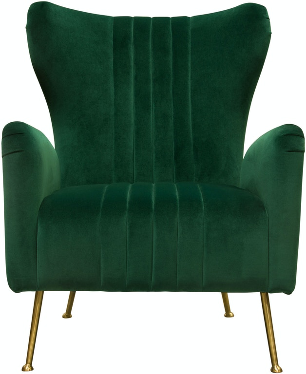 Cool Diamond Sofa Living Room Ava Chair In Emerald Green Velvet Gmtry Best Dining Table And Chair Ideas Images Gmtryco