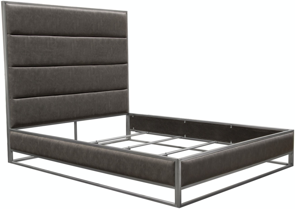 Pleasant Diamond Sofa Bedroom Empire Queen Bed In Weathered Grey Pu Machost Co Dining Chair Design Ideas Machostcouk