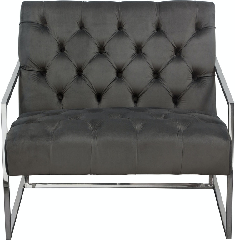 Super Diamond Sofa Living Room Luxe Accent Chair In Dusk Grey Ibusinesslaw Wood Chair Design Ideas Ibusinesslaworg