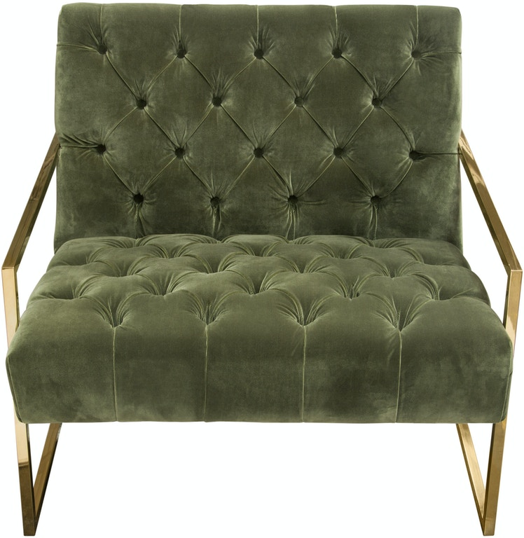 Astounding Diamond Sofa Living Room Luxe Accent Chair In Olive Green Pabps2019 Chair Design Images Pabps2019Com