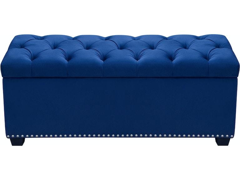 Enjoyable Diamond Sofa Accessories Majestic Tufted Velvet Lift Top Bralicious Painted Fabric Chair Ideas Braliciousco