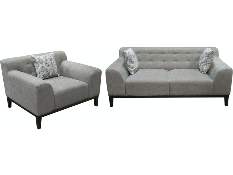 Awesome Diamond Sofa Living Room Marquee Tufted Back Sofa And Chair Theyellowbook Wood Chair Design Ideas Theyellowbookinfo