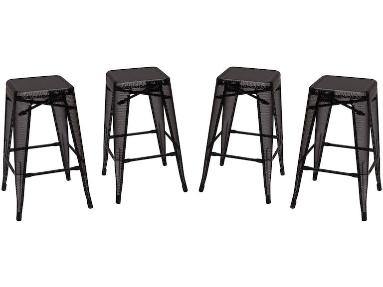 Pleasant Diamond Sofa Bar And Game Room Mesh Perforated Metal Counter Machost Co Dining Chair Design Ideas Machostcouk