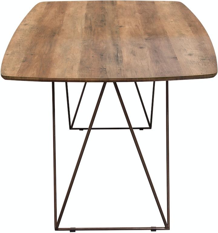Wondrous Diamond Sofa Dining Room Star Rectangular Dining Table With Machost Co Dining Chair Design Ideas Machostcouk