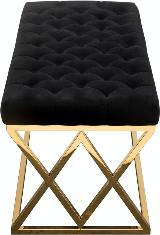 Groovy Diamond Sofa Living Room Vixen Accent Bench With Black Bralicious Painted Fabric Chair Ideas Braliciousco