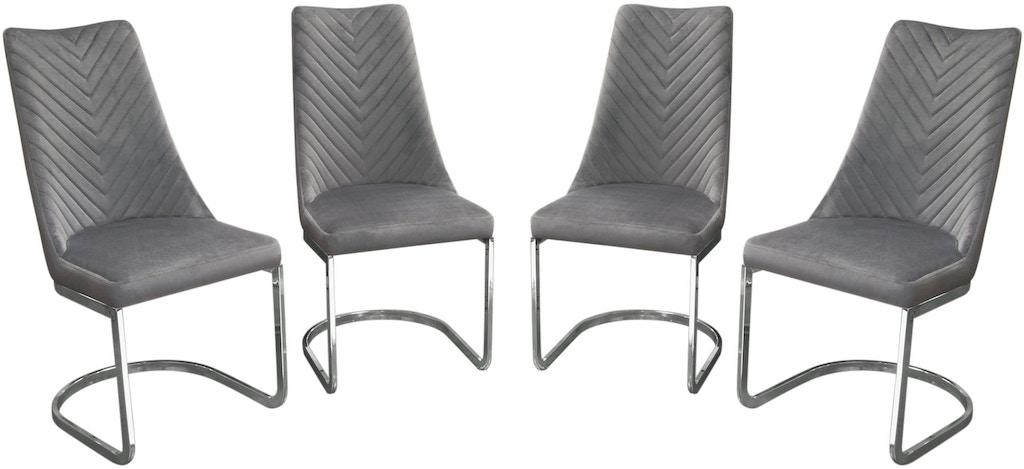 Super Diamond Sofa Dining Room Vogue Set Of 4 Dining Chairs In Creativecarmelina Interior Chair Design Creativecarmelinacom
