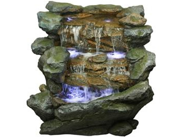 Yosemite Home Decor Accessories Three Tiered Rock Waterfall CW11032 At Evans Furniture Galleries