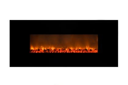 Yosemite Home Decor Living Room Carbon Flame 58 Electric Fireplace