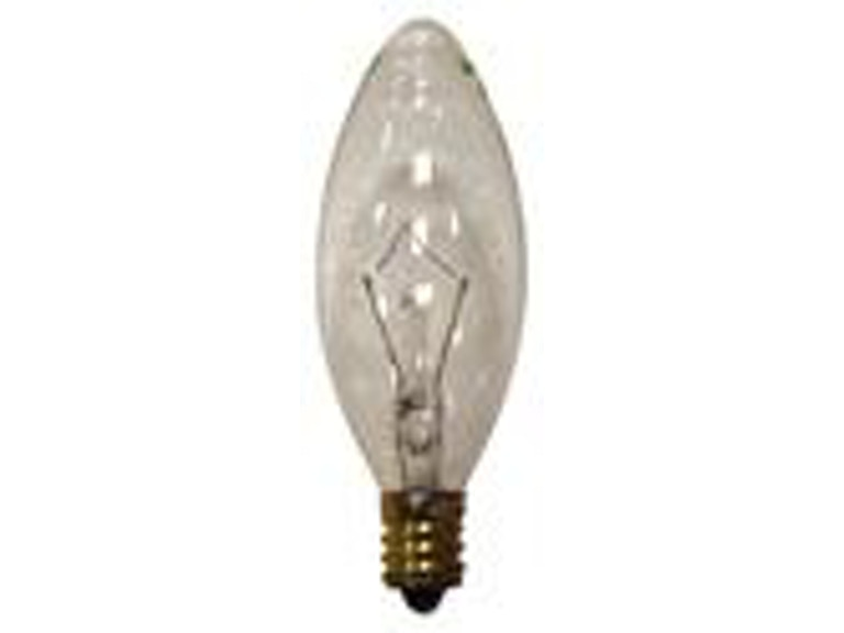 Yosemite Home Decor Lamps And Lighting Candelabra Base Small Tip Light Bulb YC3512 40C At Ramsowers Furniture