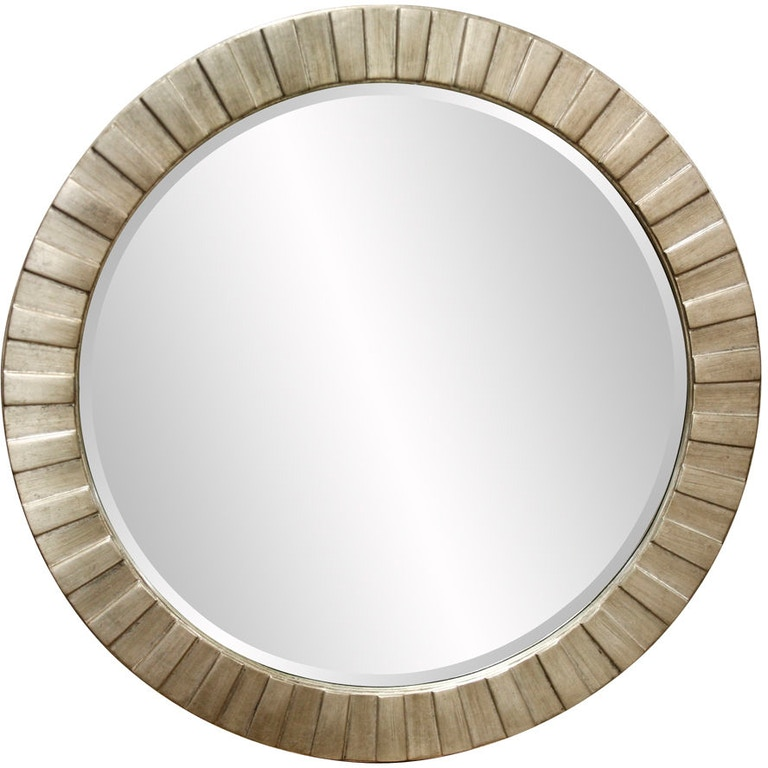 Howard elliott accessories serenity silver leaf mirror 6002 cherry house furniture la grange for Bathroom mirrors louisville ky