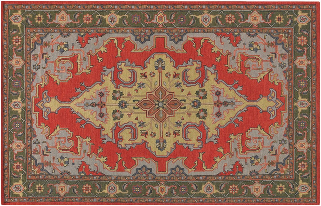 Floor Coverings Hand Knotted Rug Poo406