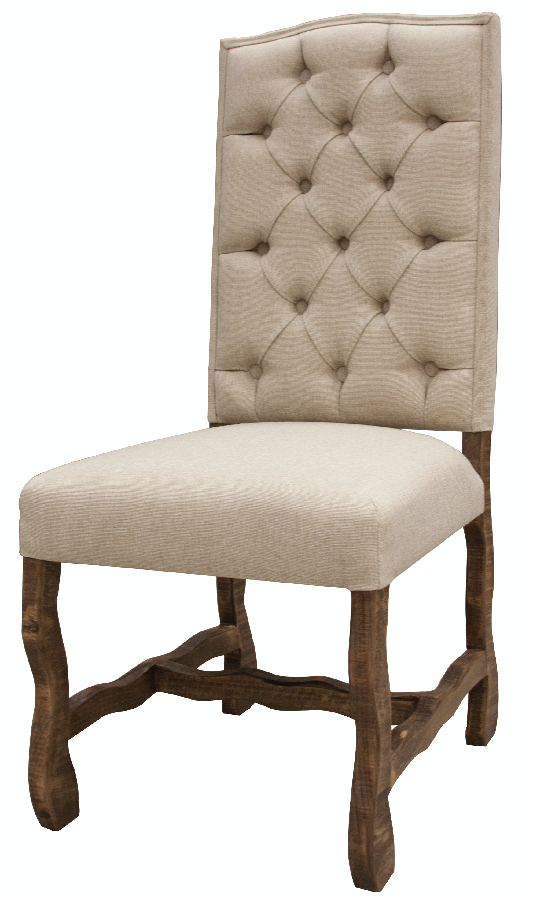 International Furniture Direct Dining Room Tufted Back Chair