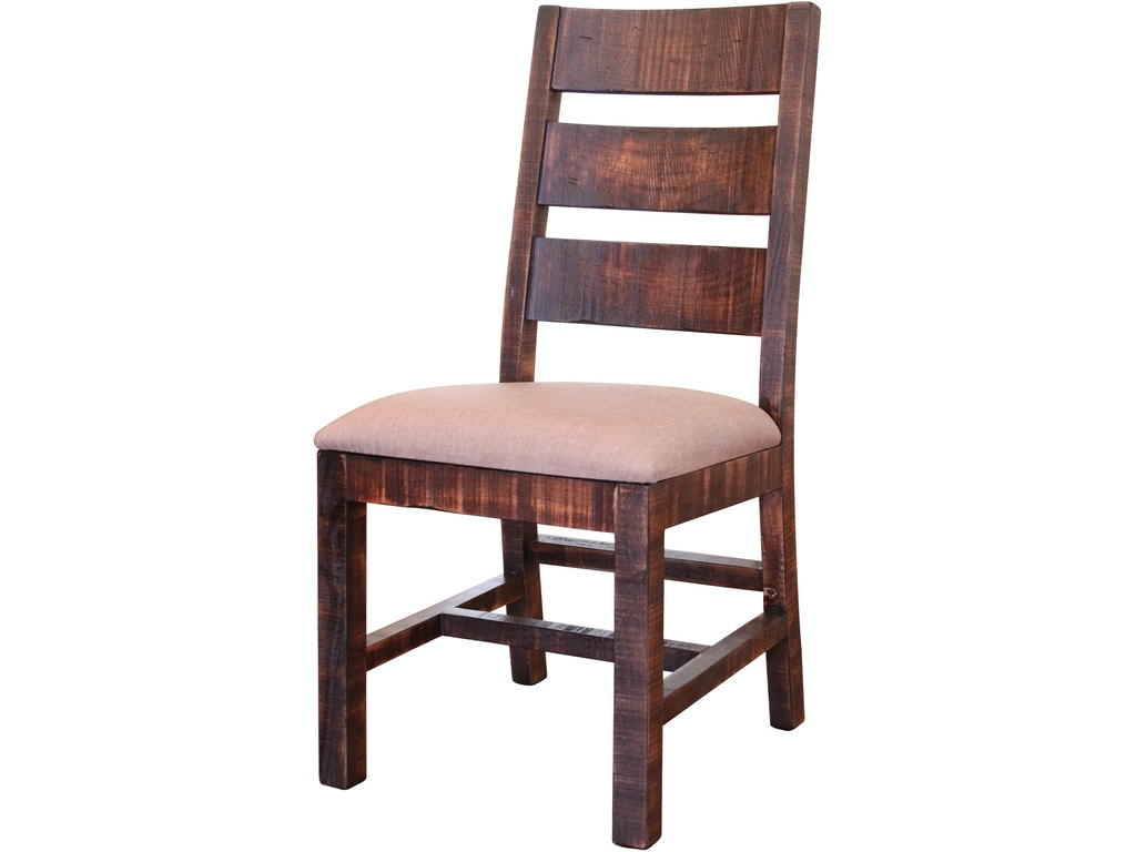 international furniture direct dining room chair with ladder back with fabric seat and solid. Black Bedroom Furniture Sets. Home Design Ideas
